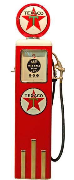 Pompes à essence Américaine de marque Texaco - Déco Américaine Old Gas Pumps, Vintage Gas Pumps, Station Essence, Pompe A Essence, Old Gas Stations, Automobile, Texaco, Vintage Cars, American