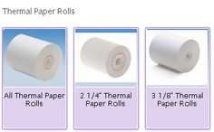 12 Best Thermal Paper images in 2013   Paper, Rolls
