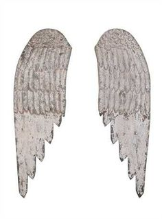 Our Wood Angel Wings are distressed beautifully in white. Since they are not joined together so they are easy to use in various ways; as wall décor or on furniture grouped with other interesting and l