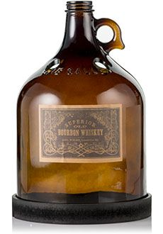 Pink Zebra RUSTIC LODGE BROWN WHISKEY JUG SHADE WITH BLACK BASE #4008975 This shade looks right out of a 1920's speakeasy with its dark amber glass and vintage whiskey label. Shop now at www.pinkzebrahome.com/lynettehanson