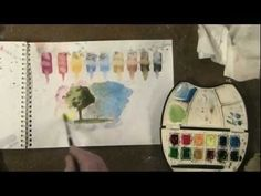 How to fix a watercolor painting