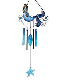 Look what I found on #zulily! Mermaid Wind Chime #zulilyfinds