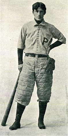"""Zane Grey, 1895.  At least three of his """"Adventure Books for Boys"""" are about baseball."""