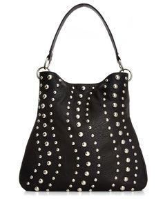 Carlos by Carlos Santana Handbag, Ola Studded Hobo - Hobo Bags - Handbags & Accessories - Macy's