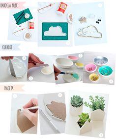 Ideas para hacer con arcilla que se seca al aire