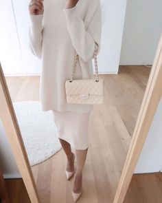 "@steffysstyle on Instagram: ""Dress is Zara (Ref number: 3253/312). Sweater (last season) is Max Mara."""