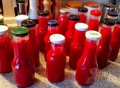 Recepty na zavařování a nakládání   NejRecept.cz Chutneys, Home Canning, Appetisers, Marmalade, Hot Sauce Bottles, Pickles, Food And Drink, Water Bottle, Homemade