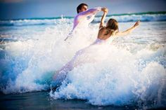 Trash the Dress em Carlsbad Beach, Estados Unidos