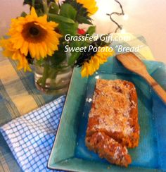 Grain Free Sweet Potato Bread