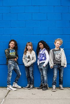 The clothing combines resilience and comfort with great design, using forms and colors inspired by the imaginary world of kids