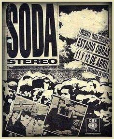 """l LO QUE SE VIENE... (30 Años) SODA STEREO l 11 y 12 de Abril 1986, el clásico """"Estadio Obras Sanitarias"""", Buenos Aires, Argentina. #NadaPersonal30Años"""