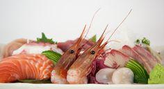 Close up of our Deluxe Assorted Sashimi #yum #seafood #japanese #shashimi #yyc #calgary