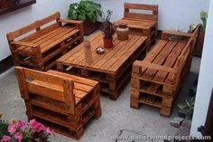 Wood Pallet Recycling Projects