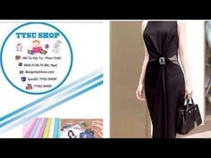 539_thiết Kế Áo Đầm - YouTube Draped Dress, Ao Dai, Marie, Sewing Patterns, Chart, Gym, Youtube, Clothes, Dresses