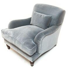#Tetrad #Windermere chair, soft  duck egg velvet  http://www.kingsinteriors.co.uk/