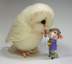 Hello!    I have a great passion for needle felting and sell my felted creations and needle felting classes. Check out my Etsy link on the right column below. Thank you for stopping by!