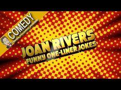 Joan Rivers Classic One Liner Jokes - YouTube