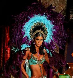 Costume Section for Tribes:Charmeuse  Trinidad Carnival Costumes 2010