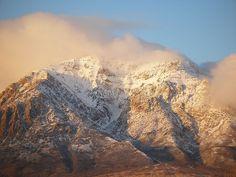 Ben Lomond Peak, North Ogden, Utah, part of the Wasatch Mountains taken by Karen J. Rasmussen.