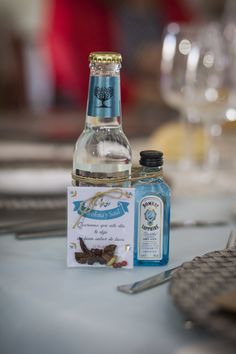 Detalle chicos. Gintonic (wedding details)