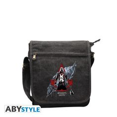 ASSASSIN'S CREED Sac Besace Assassin's creed Unity Crest Rouge Petit Format  http://www.abystyle.com/fr/sacs/1005-assassin-s-creed-sac-besace-assassin-s-creed-unity-crest-rouge-petit-format.html