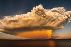 Thunderstorm in Puerto Varas
