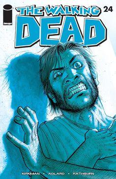 Issue #24 #WalkingDead #comic #cover #kirkman #image #thewalkingdead #Adlard