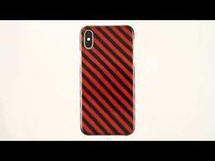 📲 iPhoneX Jackquard Orange Stripes Carbon Fiber+KEVLAR/Aramid Fiber case... Carbon Fiber, Stripes, Phone Cases, Orange, Iphone, Handmade, Hand Made, Handarbeit, Phone Case