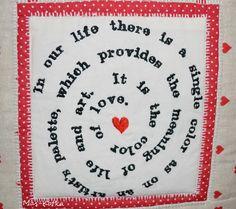 handmade pillowcase Pot Holders, Pillow Cases, Palette, Handmade, Life, Color, Art, Palette Table, Colour