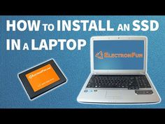 How to install an SSD in a laptop - YouTube