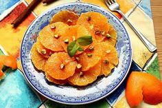 Kulinarna pasja Hani-Kasi: Aromatyczne pomarańcze z miodem i pistacjami