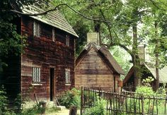 Salem, Massachusetts - Pioneer Village 1630. A recreation of Salem when it was first founded.