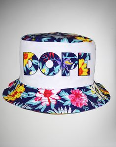 245bab39be3 Dope Bucket Hat Floral Bucket Hat