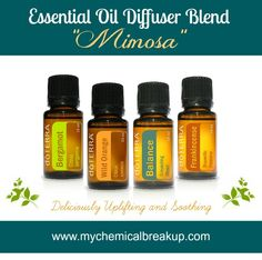 """Essential Oil Diffuser Blend – """"Mimosa"""""""