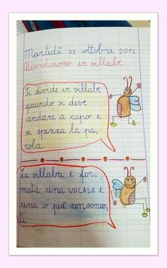 LA DIVISIONE IN SILLABE: semplici regole: Italian Language, Learn French, How To Get Rich, My Teacher, School Bags, Homeschool, Coding, Bullet Journal, Classroom