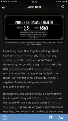 Jarrin root
