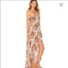 Shop for MISA Los Angeles Sabella Dress in Fuchsia Floral at REVOLVE. Free day shipping and returns, 30 day price match guarantee. Long Beach, Day Dresses, Summer Dresses, Floral Dresses, Long Dresses, Handkerchief Hem Dress, Resort Dresses, Model Outfits, Revolve Clothing