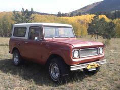 1969 International Harvester : Scout 800A