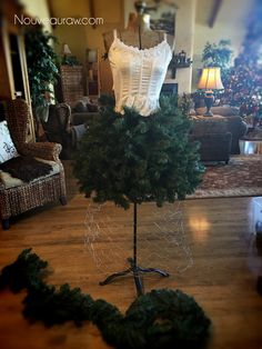 (FREE) How to Create a Dress Form Christmas Tree