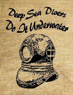 Deep Sea Divers Do It Underwater