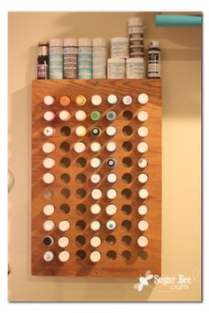 Gonna do this for all my icing colors in the cake room
