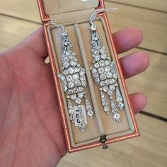 Cartier Art Deco Ear Pendants to be offered by @bonhamsjewels #Cartier #CartierArtDeco #bonhamsjewels