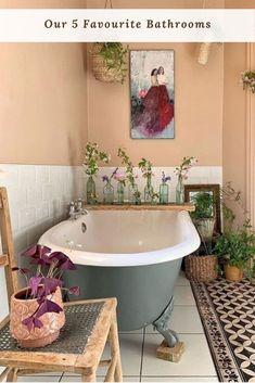 Bohemian Home Decor Design and Ideas - Bohemian Bedroom Decor - # Bö . - Bohemian Home Decor Design and Ideas – Bohemian Bedroom Decor – # Bohemian - Boho Bathroom, Bathroom Design Small, Bathroom Designs, Bathroom Ideas, Bathroom Colors, Bathroom Beadboard, Lavender Bathroom, Colorful Bathroom, Bathroom Quotes