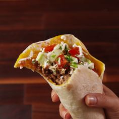 A taco guaranteed to not fall apart