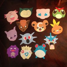 Part 3 of my pokemon door decs I made for my residents! Super proud of how they turned out :)