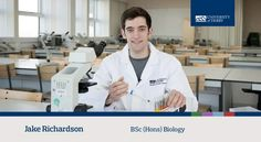 Jake, BSc (Hons) Biology student, talks about the enthusiasm University of Derby lecturers and the career advice they can offer. Find out more about our Biology course: www.derby.ac.uk/courses/biology-bsc-hons/ #derbyuni