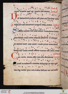 Antiphonarium Cisterciense Salem, um 1200 Cod. Sal. X,6b  Folio 69v