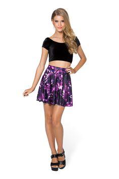 Amethyst Skater Skirt by Black Milk Clothing $50AUD