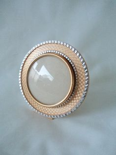 Your place to buy and sell all things handmade Round Picture Frames, Round Frame, Vintage Frames, Gemstone Rings, Gemstones, Silver, Gold, Etsy, Jewelry