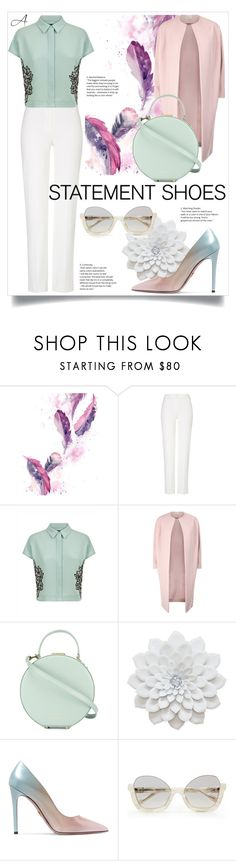 """Statement Shoes"" by andragabriela on Polyvore featuring ESCADA, Jaeger, Tammy & Benjamin and Prada"